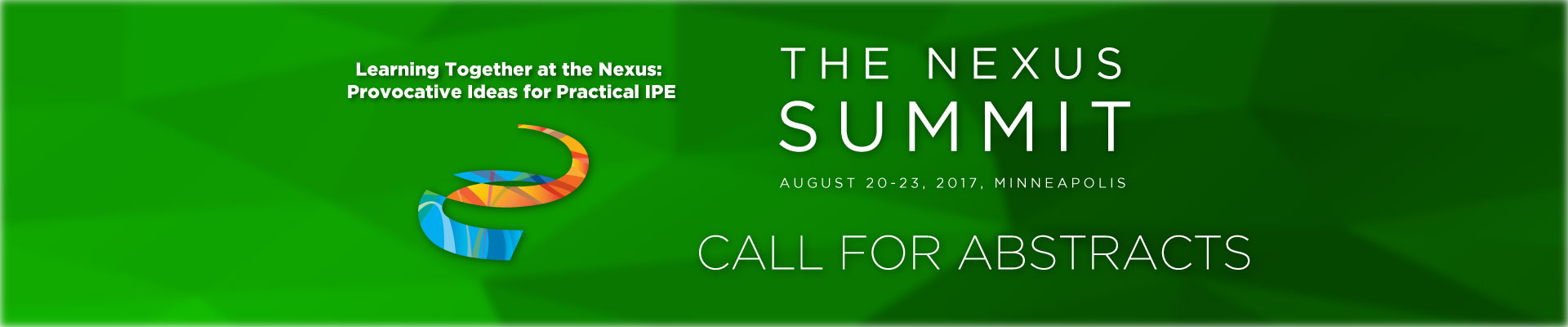 Nexus Summit 2017 Call for Abstracts